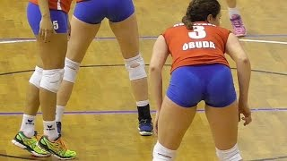 Volleyball Girls Nice Play Moments