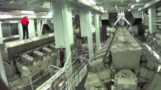 Allure of the Seas Engine Room [HQ]