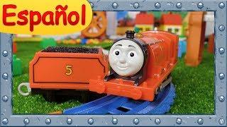 James la locomotora #5 ♦ La historia del Tender perdido ♦ Ocurrirán accidentes ♦ Thomas y sus Amigos