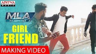Girl Friend Making Video || MLA Movie Songs || Nandamuri Kalyanram, Kajal Aggarwal || Mani Sharma