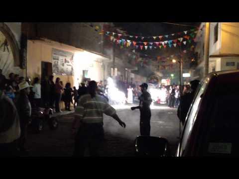 Peregrinacion Los Sauces Zinaparo Michoacan 2012