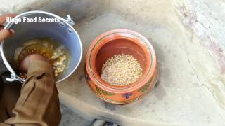 Safaid Chanay recipe Grandma's Style ❤ Village Style ❤ Village Food Secrets