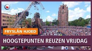 De Reuzen van Royal De Luxe in Leeuwarden (vrijdagochtend)