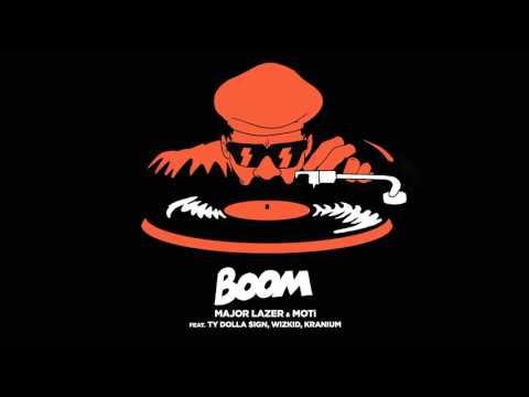 Major Lazer & MOTi - Boom (Feat. Ty Dolla $ign, Wizkid, & Kranium) Mp3