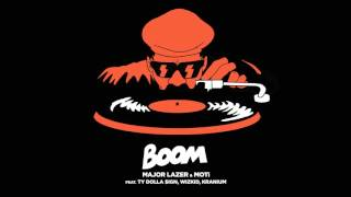 Major Lazer & MOTi - Boom (Feat. Ty Dolla $ign, Wizkid, & Kranium)