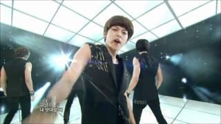 음악중심 - U-Kiss - Neverland, 유키스 - 네버랜드, Music Core 20110917