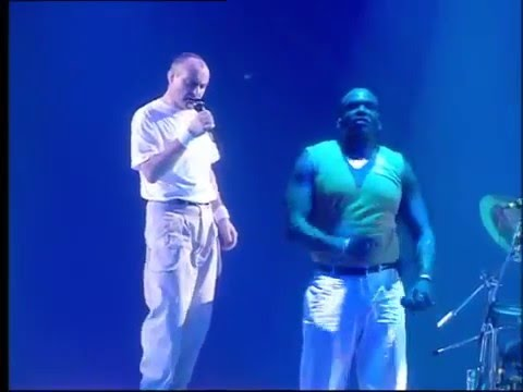 Phil Collins  |  Another Day In Paradise  |  Live and Loose in Paris