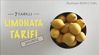 7 Farklı Şekersiz Limonata Tarifi