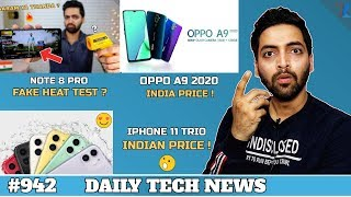 Note 8 Pro Fake Heat Test?,Iphone 11 Trio India Price,OPPO A9 2020 Price,Airtel Xstream Fiber#942