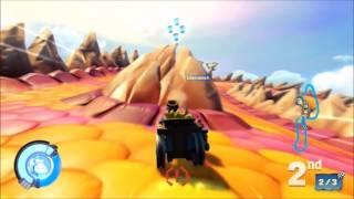 Skylanders SuperChargers (Wii U) Online Race
