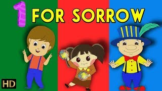 One For Sorrow (HD) & More Nursery Rhymes Collection For Children | Shemaroo Kids