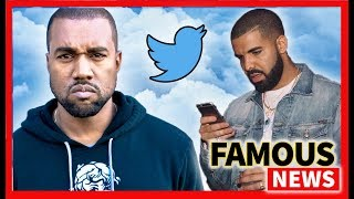 Kanye Blasts Drake Over Twitter, Arianna sings about Mac Miller in Imagine & More   Famous News