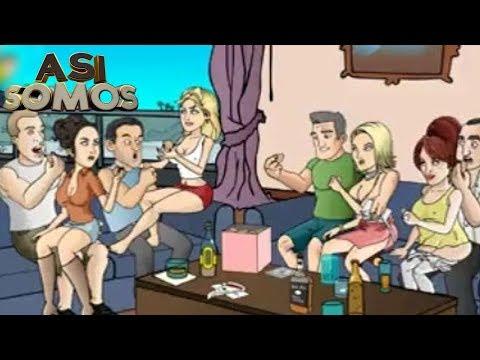 Así Somos dibujos animados para adultos