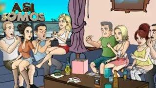 Así Somos: dibujos animados para adultos