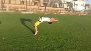 حركات خطيرة وصعبه للنجم يوسف خالد اصغر لاعب باركور