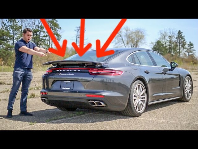 5 CRAZY Features of the '17 Porsche Panamera Turbo!