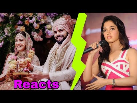 Virat Kohli's Ex gf Tamannaah Bhatia reaction of his marriage to Anushka Sharma is shocking ||