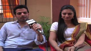 Raman and Ishita ( Karan and Divyanka ) misses Ruhi on the sets of Yeh Hai Mohabbatein