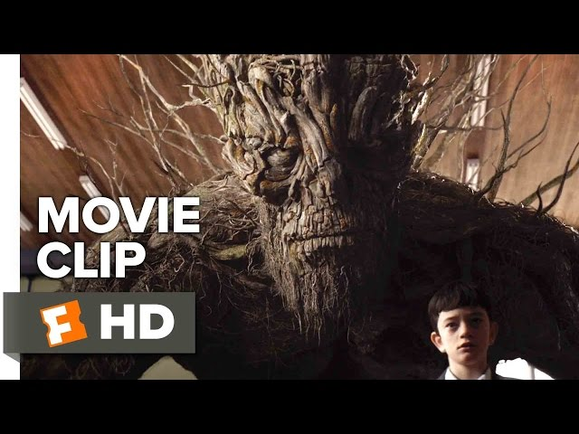A Monster Calls Movie CLIP - Lunch Room (2016) - Liam Neeson Movie