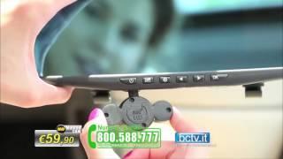 HD Mirror Cam - Specchietto retrovisore con Telecamera HD - Rerview Mirror in Car Camera DVR