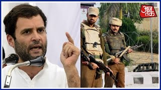 Terror Will Never Deter India from Path Of Peace, Says Rahul Gandhi
