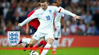 Wayne Rooney penalty - England v Norway 1-0 | Goals & Highlights