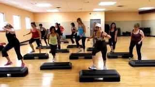 Step Cardio Routine- By Liana Santarossa DEC 2013