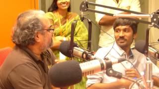 Dhanush makes everyone Laugh during Maryan live interview at Suryan FM 93.5 Studios