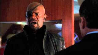 Nick Fury scene (Marvel