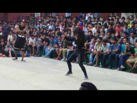 College Girl Dance Performance   Indian college Girl Dancing Video   Indian Girl Dance In College