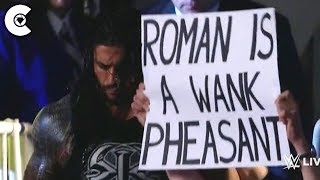100 Most Ridiculous Signs To Ever Appear On WWE TV