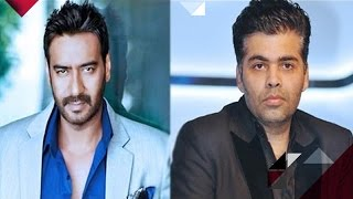 Ajay Devgan Has A Personal Problem With Karan Johar | Bollywood News
