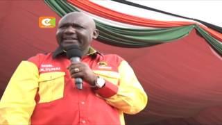 Rais uhuru aongoza kampeni za Jubilee Narok