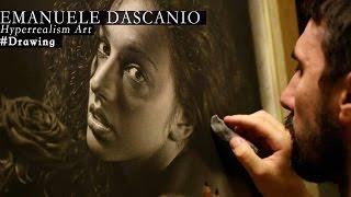 Hyperrealism - Drawing made by Emanuele Dascanio - Rosa Rùtila - 250 hours