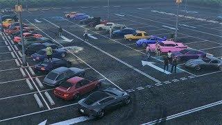 Online Car Meet GTA 5 2 Door Meet