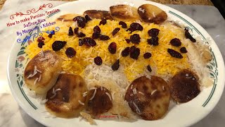 How to make Persian/Irani Saffron Rice | Mumtaz Hasham