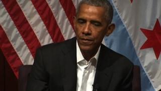 Obama Makes 1st Post-Presidency Appearance