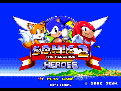 Sonic 2 Heroes Walkthrough Part 1