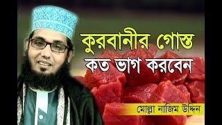 New video কুরবানীর গোস্ত কত ভাগ করবেন ? । Molla nazim uddin