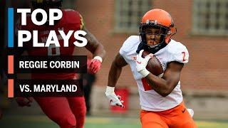Top Plays: Reggie Corbin Highlights vs. Maryland Terrapins | Big Ten Football
