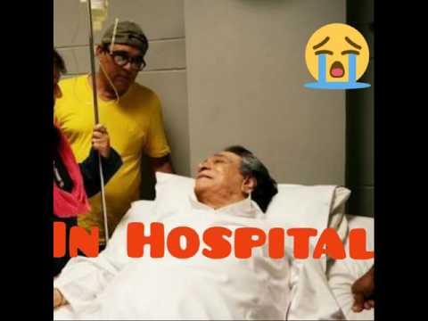 Kader Khan in Hospital