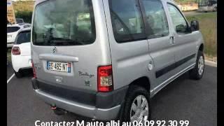 Citroen berlingo occasion visible à Albi présentée par M auto albi