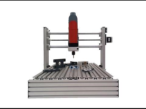 Como construir tu fresadora CNC profesional de 3 ejes Presentación