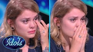 MOST EMOTIONAL AUDITION EVER   Judge Breaks Down After Contestant Sings Her Song  