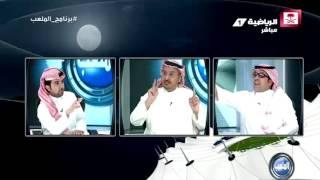 عبدالوهاب الوهيب - أطالب بتكريم الأمير عبدالله بن مساعد بدون تنصيب تمثال #برنامج_الملعب