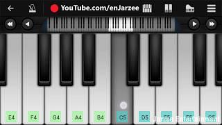 Phir Bhi Tumko Chahunga Slow Version - Easy Mobile Piano Tutorial