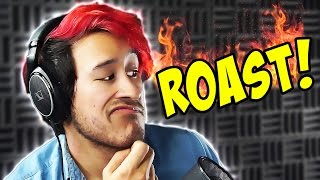Markiplier Roasted by FANS!!