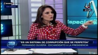 Fernando Olivera habla sobre Alan García y Rafael Rey