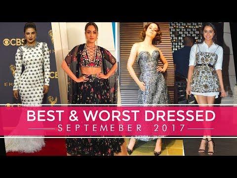 Xxx Mp4 Priyanka Chopra Kangana Ranaut Shraddha Kapoor Best And Worst Dressed Of September 2017 3gp Sex
