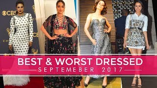 Priyanka Chopra, Kangana Ranaut, Shraddha Kapoor: Best and Worst Dressed of September 2017